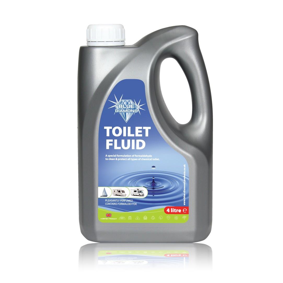 4L Blue Toilet Fluid