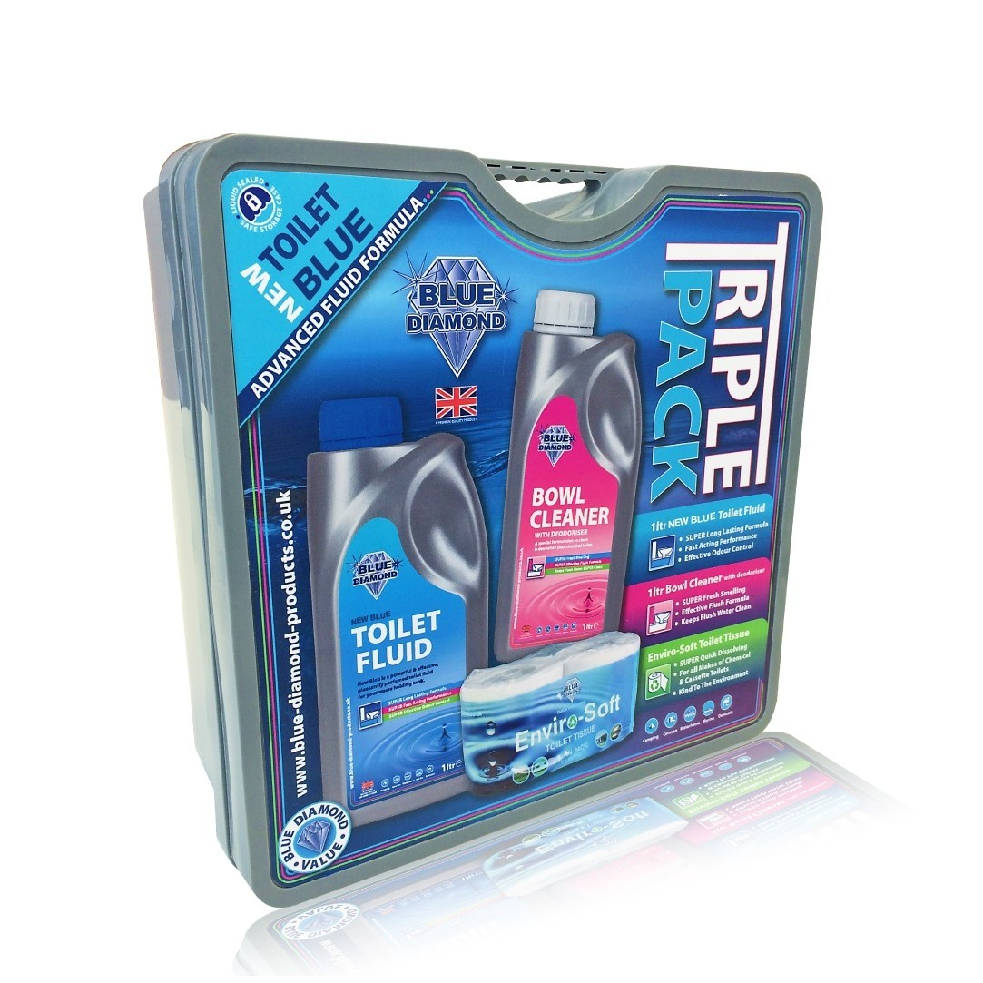 1L New Blue Triple Pack