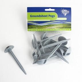 Groundsheet Pegs x10