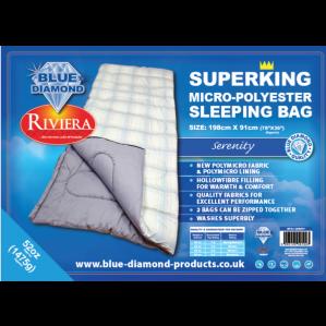 Serenity 52oz Micro-Polyester Sleeping Bag
